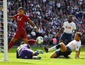 فيرمينو يسجل ثانى أهداف ليفربول ضد توتنهام فى الدوري الإنجليزي.. فيديو