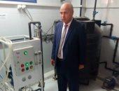 صور ..جولة مفاجئة لوكيل وزارة الصحة بنى سويف على مراكز الغسيل الكلوى