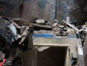 نيابة الدرب الأحمر تأمر بتشكيل لجنة هندسية لكشف سبب انهيار عقار تسكنه 4 أسر
