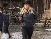 كاثرين وينك على عرش الـ Vikings فى مهرجان Comic Con