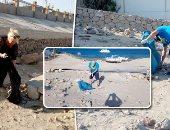 كيف احتفل اللبنانيون بيوم النظافة العالمى ؟.. فيديو
