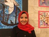 افتتاح معرض فنى لطالبة موهوبة بشمال سيناء