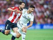 ريال مدريد يتأخر بهدف مثير للجدل أمام أتلتيك بيلباو فى الشوط الأول.. فيديو