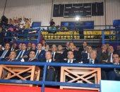 رئيس جامعة المنوفية يشهد إفتتاح أسبوع شباب المدن الجامعية الخامس بالسويس