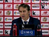 لوبيتيجى يكشف سبب تعادل ريال مدريد الأول فى الدوري الإسباني