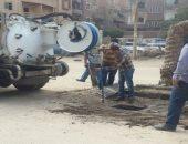 """""""مياه القليوبية"""" تنتهى من تطهير البالوعات وصيانة المحطات تحسبا لسقوط أمطار"""