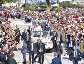 صور.. 40 ألف شخص فى استقبال البابا فرانسيس بجزيرة صقلية
