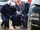 صور.. نشطاء ينظمون احتجاجا بسبب إزالة أحد الغابات فى ألمانيا