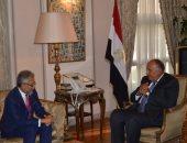 وزير الخارجية يبحث مع أمين عام منظمة الـ D8 تعزيز التعاون الاقتصادى