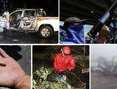 """صور.. العالم هذا الصباح.. إعصار """"مانكوت"""" العنيف يقترب من هونج كونج والصين بعدما اجتاح الفلبين.. إصابة عضو فى البرلمان الصومالى ومقتل سائقه فى هجوم بقنبلة.. إطلاق الرصاص على مسيرة فى نيكاراجوا"""