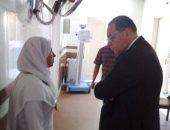 محافظ الشرقية يتفقد وحدة الغسيل الكلوى بمستشفى أبوحماد لطمأنة المرضى