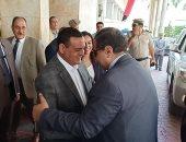 صور.. وزير القوى العاملة يصل البحيرة لتوزيع شهادات أمان على العمالة المؤقته