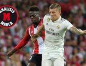 أخبار ريال مدريد اليوم عن فشل كروس فى اختبار الوسط الدفاعى أمام بيلباو