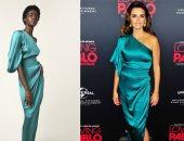 """صور.. مقارنة بينلوبى كروز مع عارضة  دار أزياء""""Ralph & Russo"""" بسبب فستانها"""