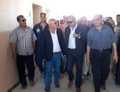 محافظ بورسعيد يتابع استعدادات المدارس لاستقبال العام الدراسى