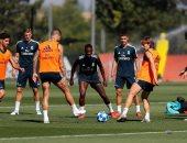 ريال مدريد يبدأ مهمة البحث عن اللقب الرابع بدورى أبطال أوروبا.. صور وفيديو