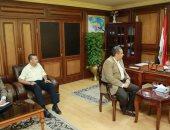 محافظ كفر الشيخ يبحث توفير المستلزمات الطبية مع نائب وزير الصحة