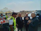 صور.. مدير أمن القاهرة يتفقد الطريقين الدائرى والإقليمى وانتشار القوات