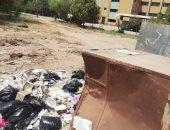 صور.. اضبط مخالفة.. القمامة تحاصر منشآت مستشفى الداخلة العام