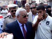 مدير أمن كفر الشيخ يفتتح معرض مستلزمات دراسية بقرية الحمراوى