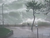 أمطار غزيرة تضرب اليابان مع احتمالات تعرض شبه الجزيرة الكورية لإعصار داناس