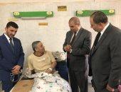 رئيس جامعة الأزهر: تطبيق أعلى معايير الأمان بوحدة الغسيل الكلوى فى الحسين الجامعى