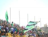 صور.. مدير أمن الإسكندرية يتفقد ملعب زعيم الثغر فى أول حضور للجمهور