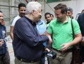 صور.. مرتضى منصور يعلن تفاصيل استقدام أدوات صالة الجمباز من شركة ألمانية