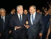 محافظ جنوب سيناء يستقبل النائب العام بمطار شرم الشيخ الدولى