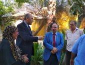 مدير تعليم القاهرة يتفقد استعدادت مدارس حلوان لاستقبال العام الدراسى الجديد
