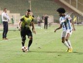 جهاز منتخب مصر يشاهد على وطاهر وجابر فى مباراة المقاولون وبيراميدز