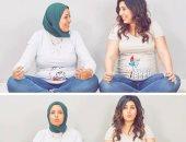 """آيتن عامر تنجب بالتزامن مع صديقتها المقربة: """"بقوا أصحاب من قبل ما يشرفوا"""""""