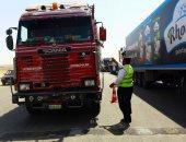 المرور يضبط 3980 مخالفة مرورية بمحاور وميادين الجيزة خلال 24 ساعة