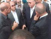 محافظ القاهرة يتفقد التجهيزات النهائية لشقق مساكن المحروسة بحى السلام