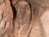 """""""ديلى ميل"""" تسلط الضوء على تمثال أبو الهول المكتشف فى أسوان"""