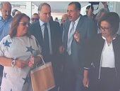 شاهد.. فستان نائبة برلمانية فى تونس يثير جدلا على السوشيال ميديا