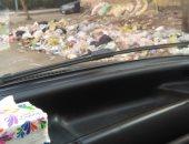 قارئ يشكو من انتشار القمامة بمنطقة صقر قريش