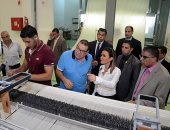 وزيرة الاستثمار تتفقد عددا من الشركات بالمنطقة الحرة فى الإسكندرية