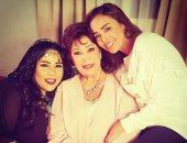 """شيماء سيف فى كواليس تصوير مسلسل """"زوجة مفروسة أوى"""" الجزء الرابع"""