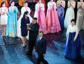 صور.. رئيس كوريا الجنوبية وقرينته يحضران عرض مسرحى على هامش قمة الكوريتين