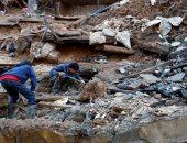 ارتفاع ضحايا الإنهيار الأرضى لـ 12 شخصا وإنقاذ 12 آخرين بالفلبين