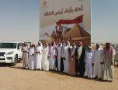 الإبل المصرية تشارك فى مهرجان ولى العهد بالمملكة العربية السعودية