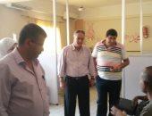 رئيس مدينة مطاى بالمنيا يتابع الحالة العامة بالوحدات الصحية والغسيل الكلوى