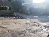 قارئ يشكو من سوء حالة الطريق بشارع السودان فى المهندسين
