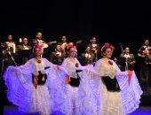 صور.. أوبرا الإسكندرية تستضيف حفل فرقة فلكلور مكسيكى