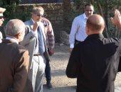 محافظ المنيا يتفقد الموقع الجديد لمجمع مواقف سيارات الأجرة