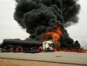 مصرع 19 شخصا إثر اصطدام حافلة بشاحنة وقود وسط إيران
