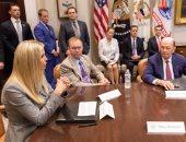"""شاهد.. تعليق """"إيفانكا ترامب"""" على أول اجتماع للمجلس الوطنى للعمال الأمريكيين"""
