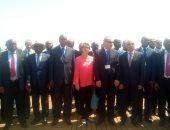 المشاركون بالمؤتمر الأول لنواب عموم أفريقيا وأوروبا يلتقطون صورة تذكرية