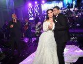 رجل الأعمال مصطفى النجار يحتفل بزفاف نجله محمد على هيا السيد